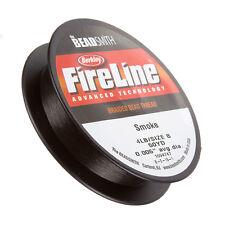 "Fireline Braided Beading Thread Smoke 4LB 50 yards 0.005"" (G104/2)"
