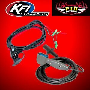 Details about KFI ATV-HR Universal ATV Winch 14ft Hand Held Corded on