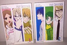 Hot Gimmick Manga Books 1 & 2 (Three in one books) English