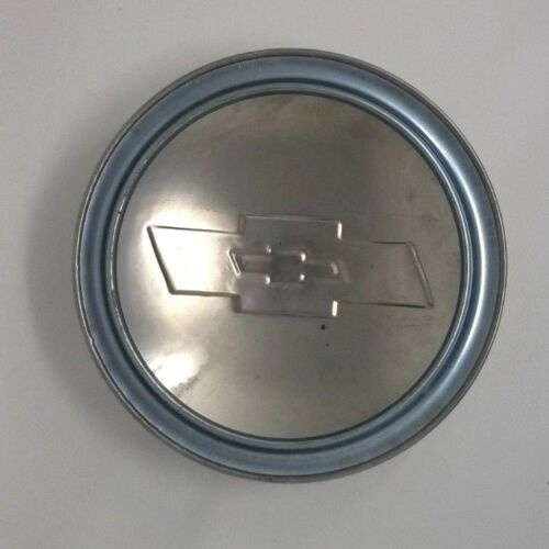 Chevrolet Truck 1//2 Ton 1954 Early 1955 Stainless Steel Hubcap Blue Bowtie