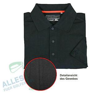 Cutter-amp-Buck-Polo-organische-Baumwolle-super-soft-schwarz-EU-Groesse-M-US-Gr-S