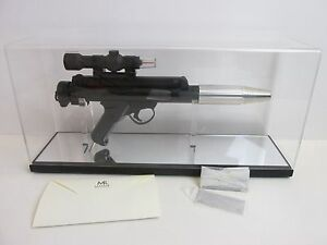 100% Vrai Master Replicas Rare Star Wars Rebel Trooper Blaster Gun Sw-125 A New Hope