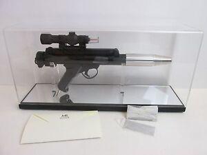 100% Vrai Master Replicas Rare Star Wars Rebel Trooper Blaster Gun Sw-125 A New Hope