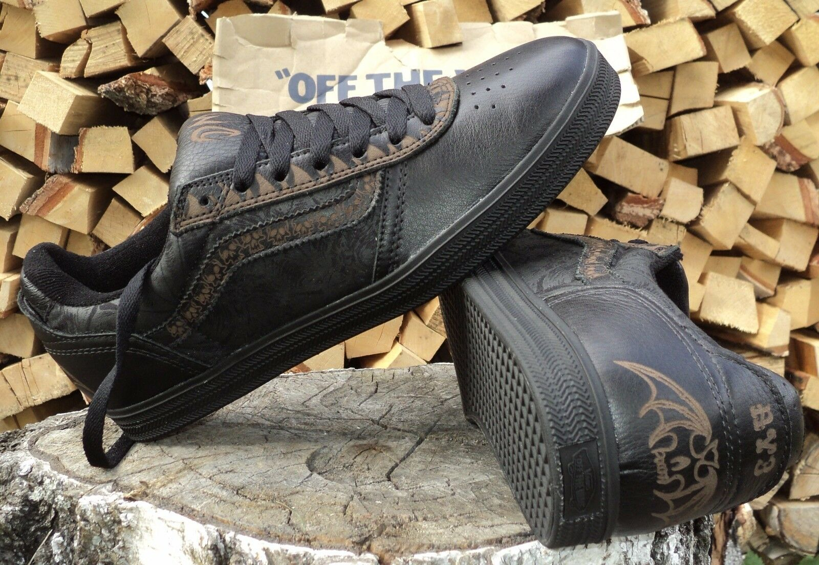Vans AV3 Dennis Mcnett \ Black. VN-0F3UX3B. Limited Edition. Edition. Edition. Rare and Unique. 758239