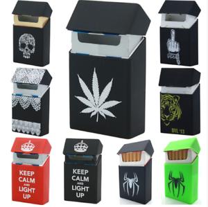 1Pcs-Silicone-Cigarette-Box-Case-20-Cigarette-Tobacco-Holder-Smoking-Accessories