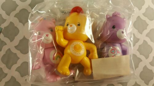 care bears cake kit toppers figures lot bakery crafts poseable