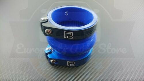 """P2M UNIVERSAL ALUMINUM PIPE HOSE CLAMP INTAKE RED 2.5/"""" 2.50/"""" 71mm 72mm 73mm"""