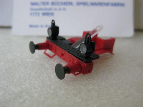 LILIPUT # 44020-01 Rahmenvorderteil Pufferbohle rot LILIPUT H0 BR18.3 bad.IVh