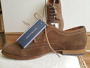 f2db79169f8a2 Details zu Tommy Hilfiger Herren Schuhe,Business-Schuhe Neu, Gr.44, Farbe  braun