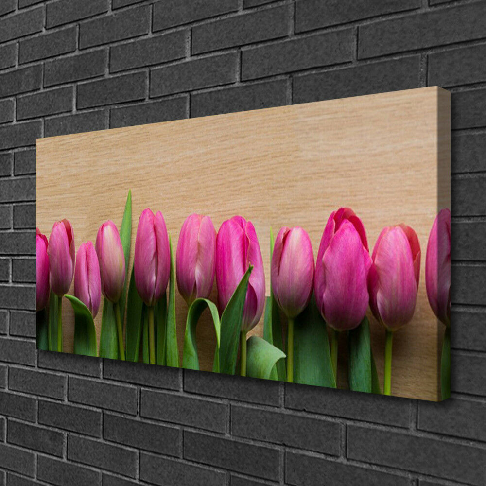 Canvas print Wall art on on on 100x50 Image Picture Flowers Floral 3a39aa