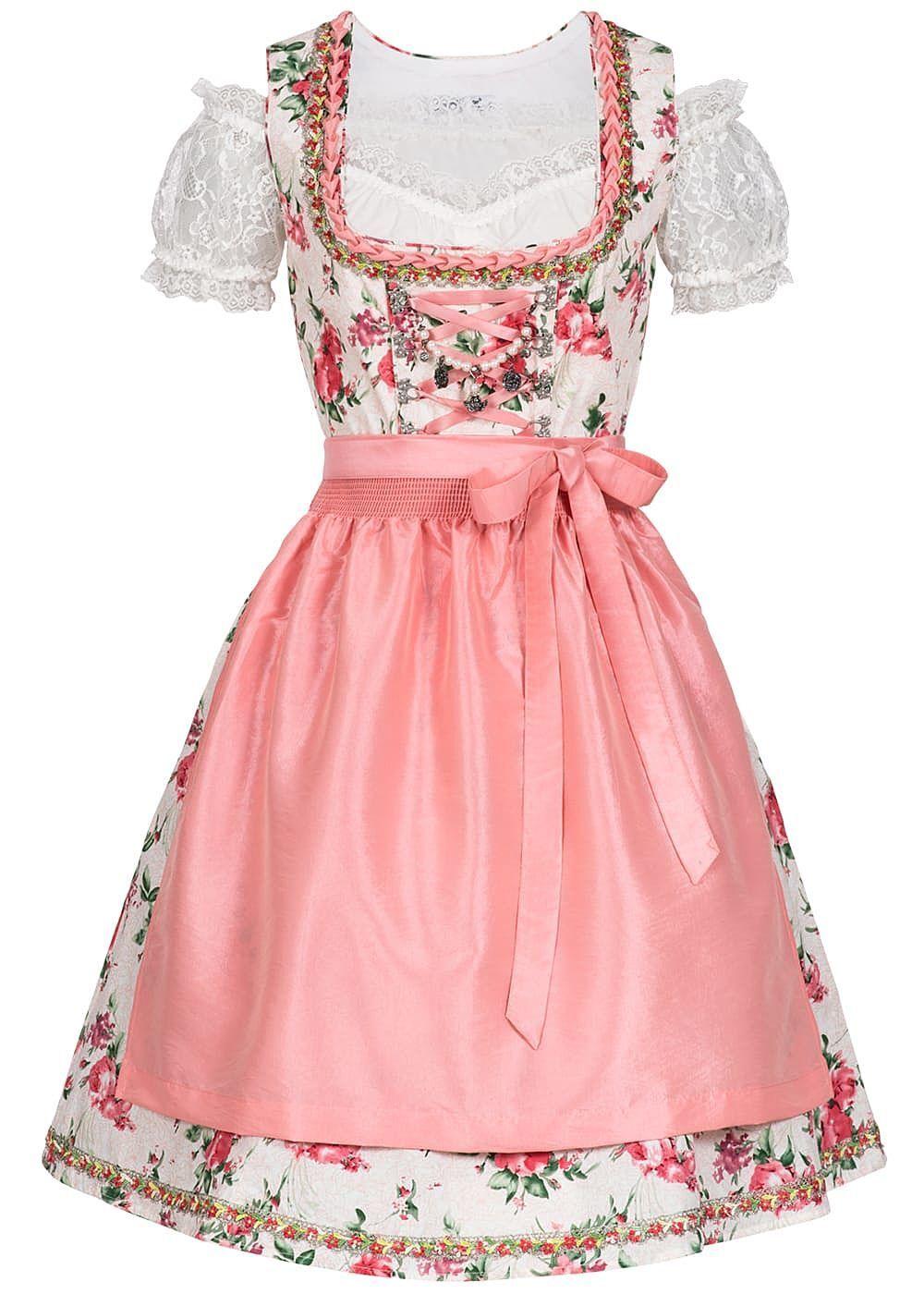 B180890370 Damen 77 Lifestyle Dirndl Kleid mit Schürze OHNE Bluse