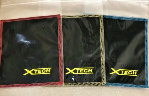 XTECH Double Sided Leather Bowling Ball Shammy//Towel Ball Cleaning Wipe off Oil