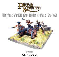 Warlord Games - Pike & Shotte BNIB Saker Cannon + Crew