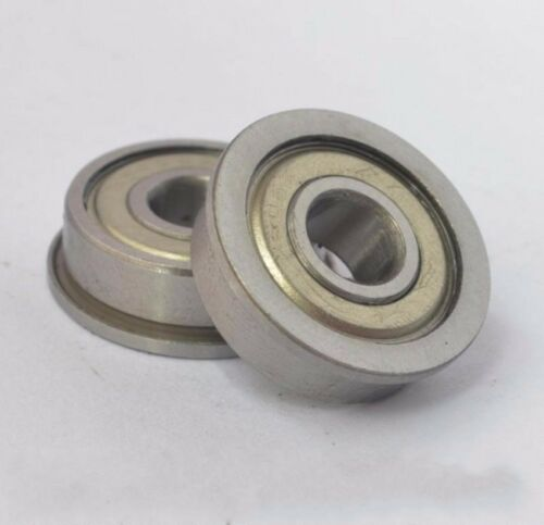 10PCS FM105 FMR105ZZ Shielded FLANGED Ball Bearing Deep Groove Bearing  5*10*4mm