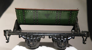 7830:Kraus Fandor, Kipp Wagon für Kohle,Blecheisenbahn,30er Jahre,Spur 0.
