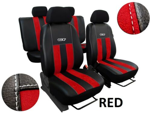 FORD RANGER Mk5 2012-2018 ARTIFICIAL LEATHER /& ALICANTE TAILORED SEAT COVERS