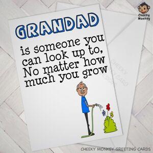 Image Is Loading GRANDAD Birthday CARD Grandad Humour Cute Grandpa Grand