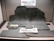 Toyota Rav4 01-03 w/ Cutout Gray Carpet Floor Mats Set Genuine OEM OE