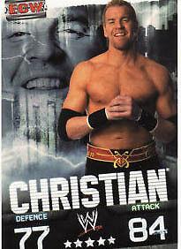 Evan Bourne ECW Card Official WWE Slam Attax