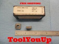 10 Pcs New Rtw Snmg 433 E Grade Cq2 Carbide Inserts Machine Shop Tools