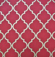 Chandelier Quattro Crimson Metallic Moda Cotton Fabric Yard Sale 30% Off