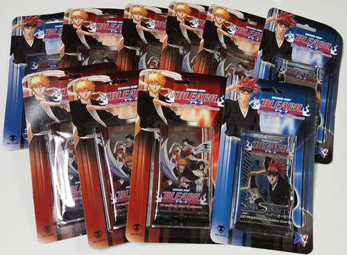 10 Bleach Trading Card Game Packs Assorted Blister Packs Gaming