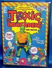 BRAND NEW RARE OOP TROMA TOXIC CRUSADERS THE ANIMATED MOVIE DVD 2002