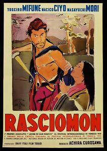 Manifesto-Rashomon-Toshiro-Mifune-Akira-Kurosawa-Rasciomon-Akutagawa-P02