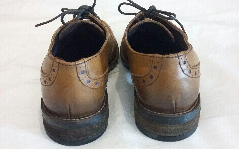 FRONT LONDON Drake Brogues Schuhes Schuhes Schuhes Tan Größe uk 6 eu 40 2a38df