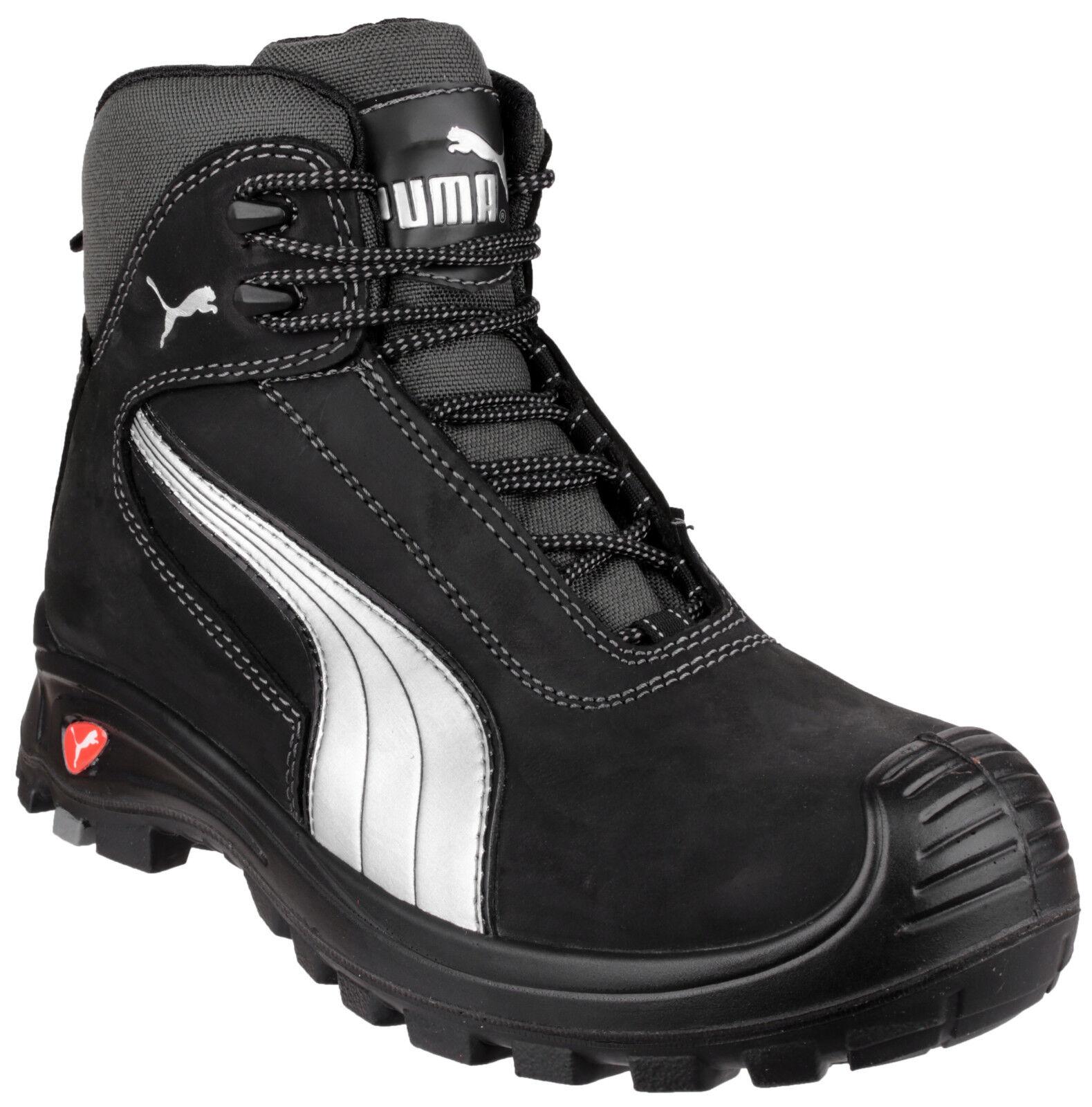 Puma Cascades Safety homme composite toe cap industriel travail bottes chaussures UK6-13