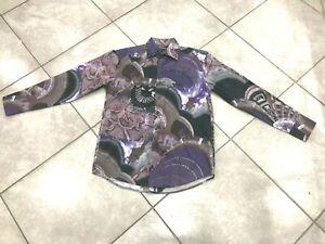 NEW-Mens-CDS-Risen-100-Cotton-Fashion-Print-Casual-Shirt-MultiColor-Regular-Fit