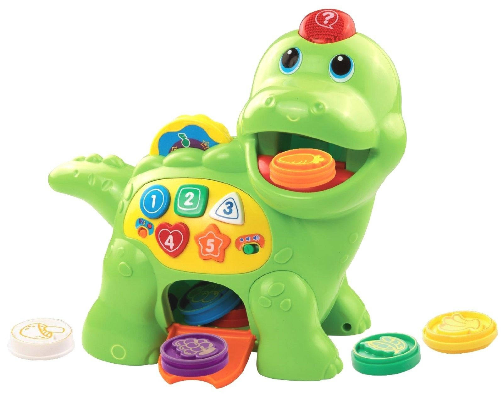 VTech Baby Feed Dino Toddler Baby First Learning Toy 130+ Songs Birthday Gift