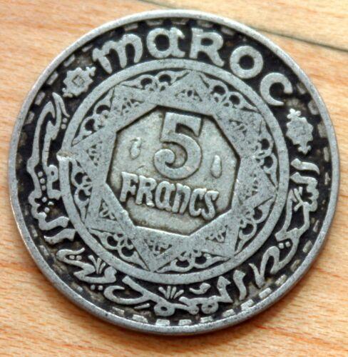 1370 Morocco 5 Francs