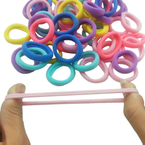 20 teile//paket 1CM TPU Haar Seile für Frauen Kinder Gummi Gummibänder Haarbänder
