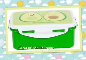 Awesome-Happy-Avocado-Click-Seal-Lunch-Box-034-AVO-Good-Lunch-034-Sass-amp-Belle