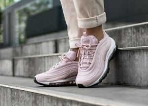 Details about WOMEN'S NIKE AIR MAX 97 UK SIZE 6 BARELY ROSEWHITE (921733 600)