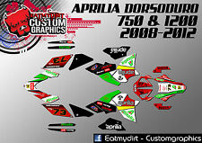 APRILIA DORSODURO 750 1200 2008 - 2012  FULL GRAPHICS KIT DECALS  STICKERS