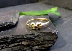 Edler-925-Silber-Ring-Vergoldet-Grosse-Groesse-Saphir-Facettiert-Blau-Elegant-Chic