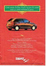 Publicité Advertising 057  1994  la Seat Ibiza Si  1.6i GLX