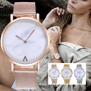 ASAMO-modische-Damen-Armbanduhr-mit-Metall-Armband-Uhr-AMA206