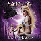 Death & Legacy [Digipak] by Serenity (Austria) (CD, Feb-2011, Napalm Records)
