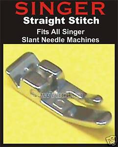 SLANT SHANK STRAIGHT STITCH FOOT COMPLETE #BP1875 fits SINGER
