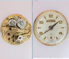 roamer mst 367 cal movimento movement manual old watch for part dial not working