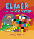 Elmer and the Monster by David McKee (Paperback, 2015)