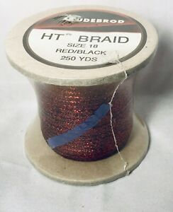 ... Gudebrod HT Metallic Fishing Rod Winding thread Size A Color Copper 9396
