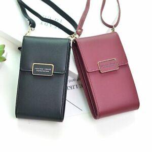 Women-039-s-Mini-Crossbody-Shoulder-Bags-Phone-Pocket-Purse-Fashion-Leather-Handbags