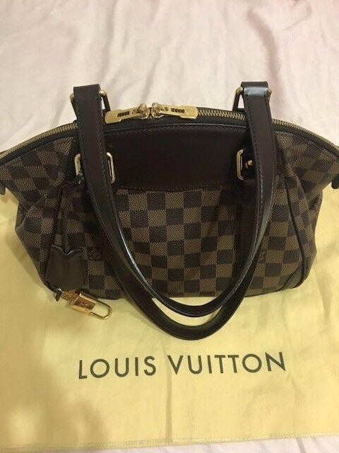 b3a33702169e Authentic Louis Vuitton Damier Verona PM Bag Handbag for sale online ...