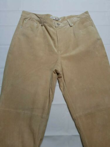 Tommy Hilfiger Authentic Leather Pants  - Size 14