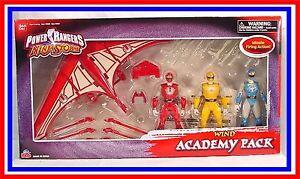 Power Rangers Ninja Storm _ Ensemble de figurines Wind Academy (mib) * Rare 45557103217