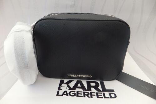 Negro Genuine mau Ladies Bag K Body Bnwt Cross Lagerfeld Karl pCqIwn58U